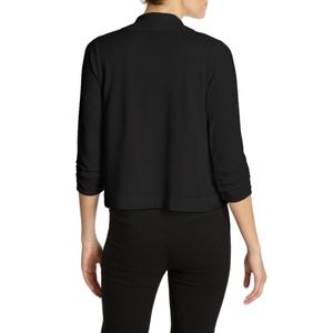 89th & Madison Black Cardigan Long Sleeves Shrug M